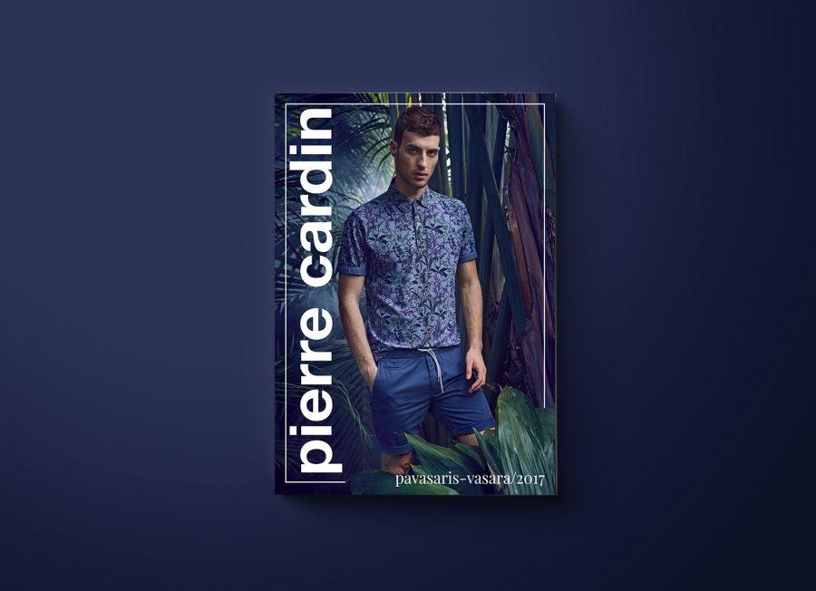 Design for Pierre Cardin publications