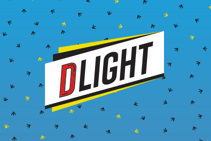 DLIGHT banner animation