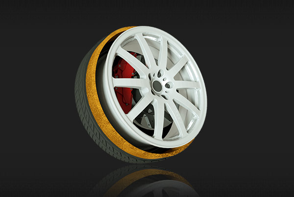 GoodYear Tire 3D animations