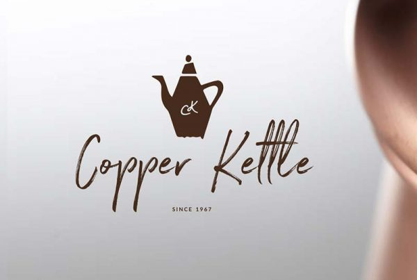 Copper Kettle logo and branding