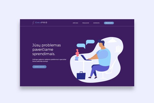 Ema Pro website created by Pixel House