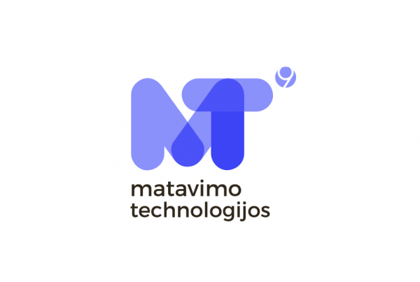 Matavimo Technologijos logotipas sukurtas Pixel House